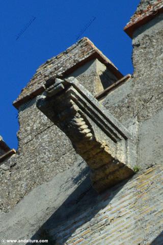 Desagüe Terraza de la Torre de Comares