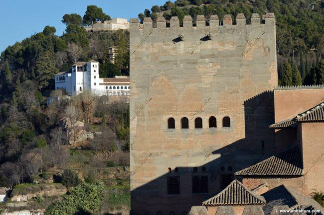 Torre de Comares, Palacio del Generalife y Silla del Moro