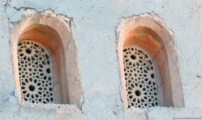 Ventanas exteriores de la Torre de Comares