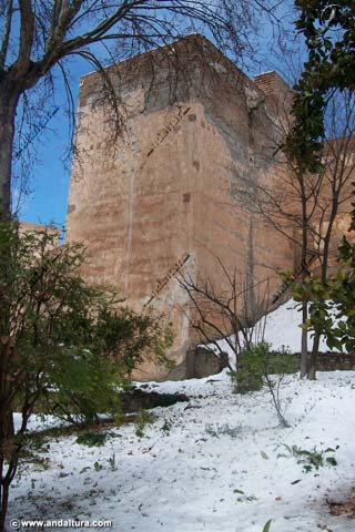 Torre de Juan de Arce nevada