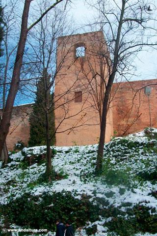 Torre de la Bruja nevada
