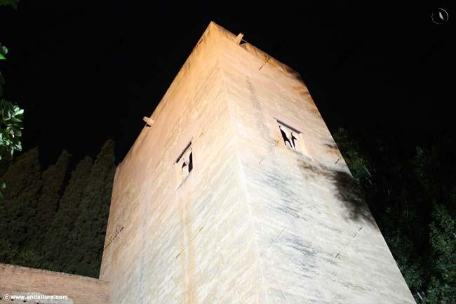 Torre de la Cautiva desde la Cuesta de los Chinos