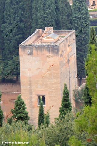 Torre de la Cautiva desde la Silla del Moro