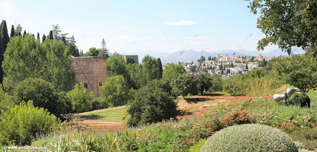 Torre de la Cautiva y Albaycín