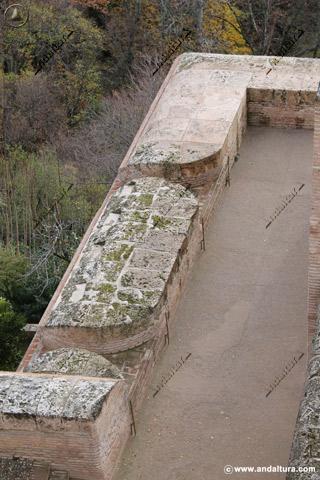Sistema Defensivo para artillería en la Torre de la Pólvora