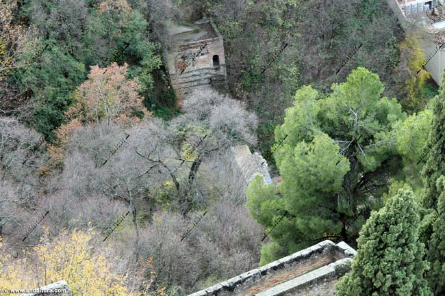 Puerta de las Granadas y Baluarte de la Torre de la Vela