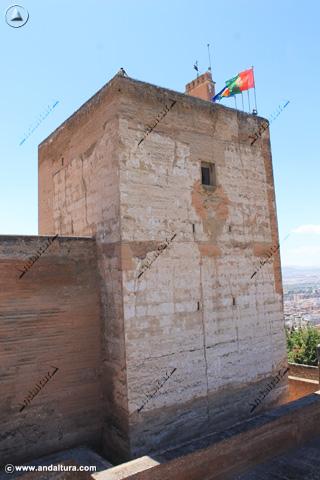 La Torre de la Vela desde la Terraza de la Plaza de Armas