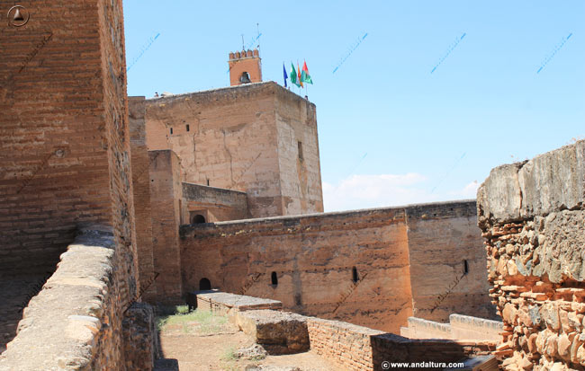 Torre de la Vela y torre de Armas