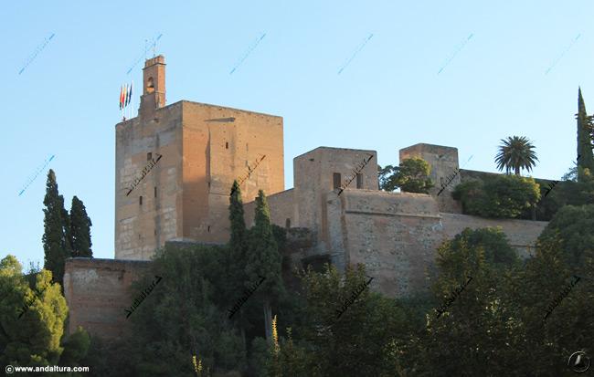 Torre de la Vela desde Torres Bermejas