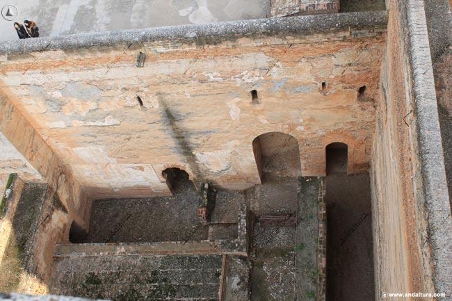Entrada de la Puerta de las Armas por el interior