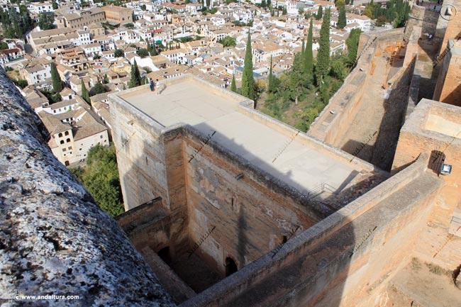 Terraza de la Torre de las Armas