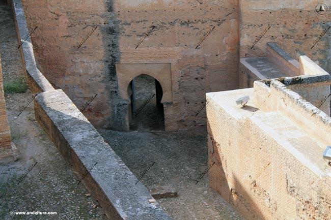 Puerta interior Torre de las Armas