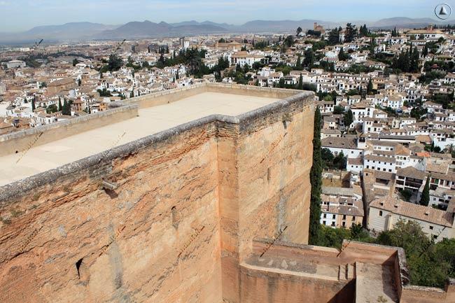 Torre de las Armas y Albaycín