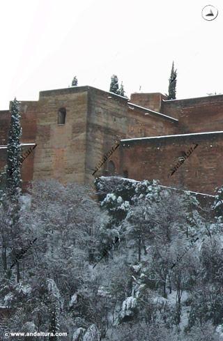 Torre de las Armas nevada