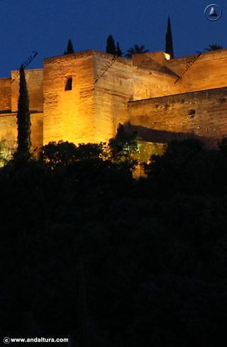 Torre de las Armas desde la Placeta de Carvajales