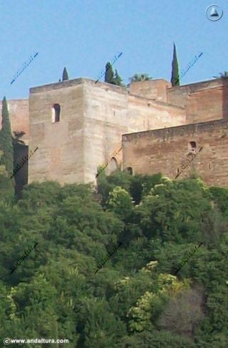 Torre de las Armas desde el Mirador de Carvajales