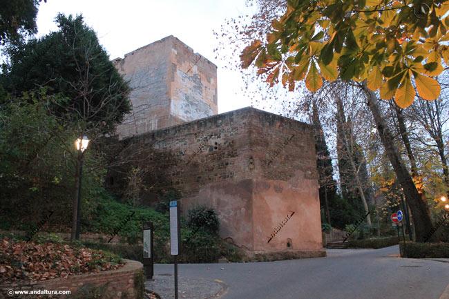 Torre de las Cabezas, Baluarte y Carretera