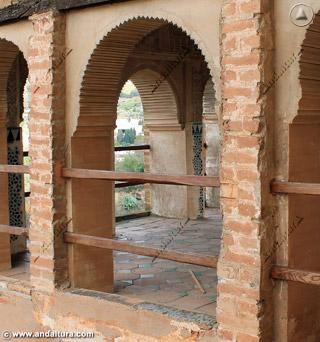 Interior de la Torre de las Damas