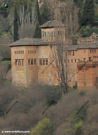 Palacio del Partal desde San Nicolás