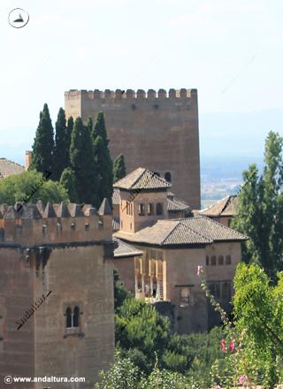 Torre de los Picos y Palacio del Partal