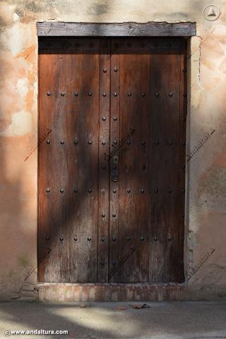 Puerta de entrada a la Torre de las Infantas
