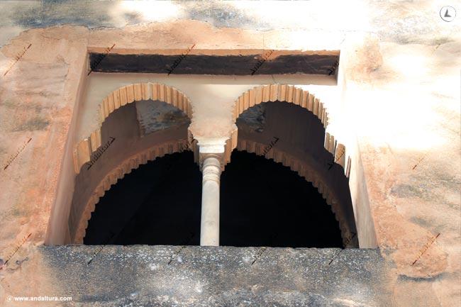 Detalle Ventana de la Torre de las Infantas
