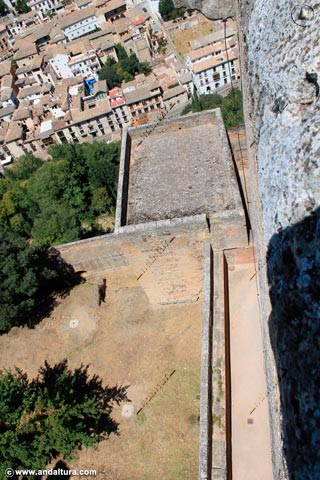 Torre de los Hidalgos desde la Torre de la Vela
