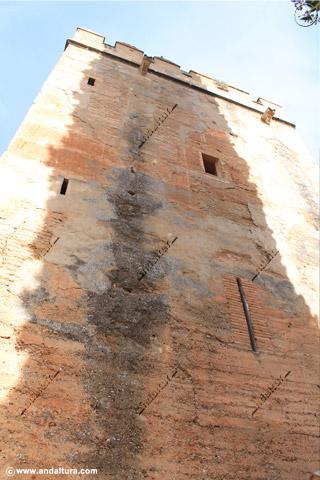 Detalle de la Torre de los Picos