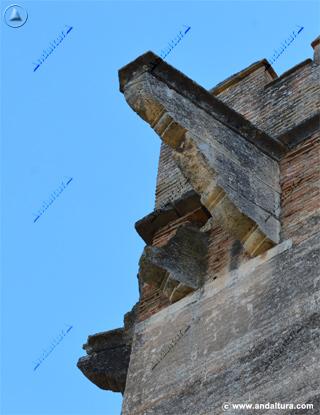 Mensulas de la Torre de los Picos