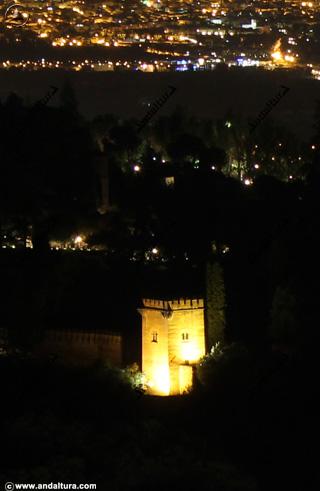 Torre de los Picos desde la Abadía de San Miguel
