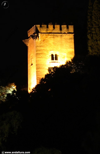 Torre de los Picos desde el Generalife