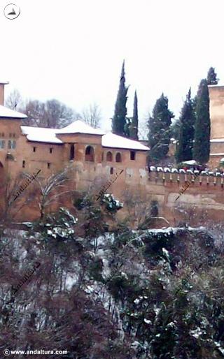 Torre de Machuca nevada