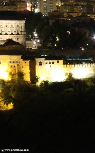 Torre de Machuca, imagen nocturna