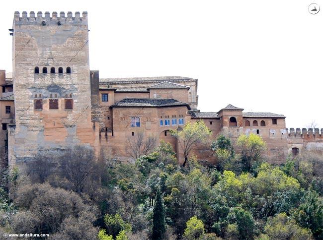 Torre de Machuca y Palacio de Comares
