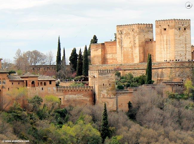 Torre de Machuca, de Muhammad, del Cubo y Torres de la Alcazaba