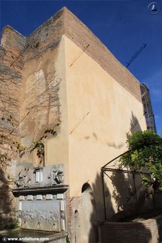 Jadrin del Adarve y Torre del Adarguero