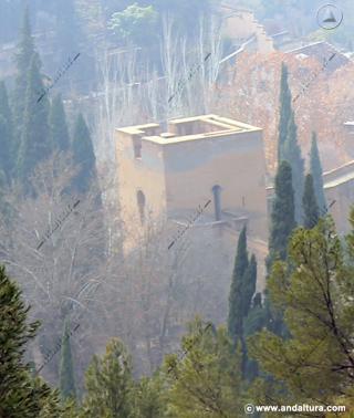 Torre del Agua desde la Silla del Moro