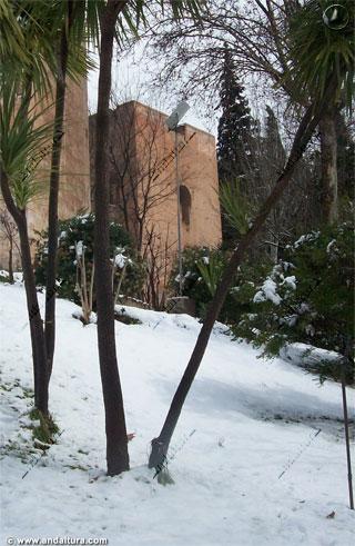 Torre del Agua nevada