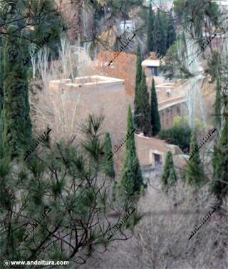 Torre del Agua y Puente Nuevo desde la Silla del Moro