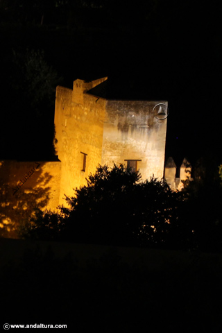 Torre del Cadí nocturna
