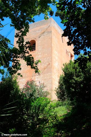 Bosque de la Alhambra y Torre del Capitán