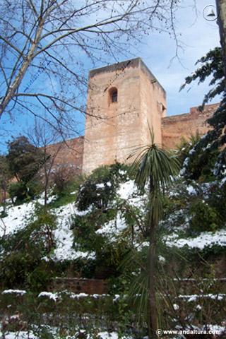 Torre del Capitán nevado