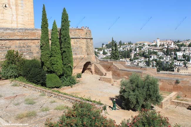 Torre del Cubo y el Albaycín