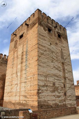 Torre del Homenaje desde la Torre del Cubo
