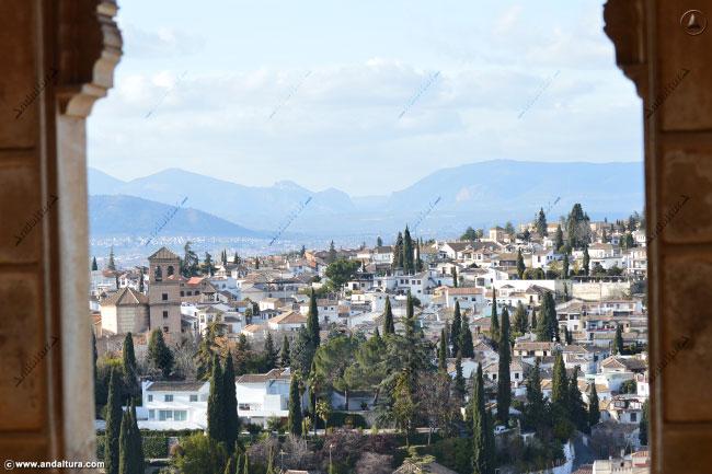 Albaycín desde la Torre de Ismael