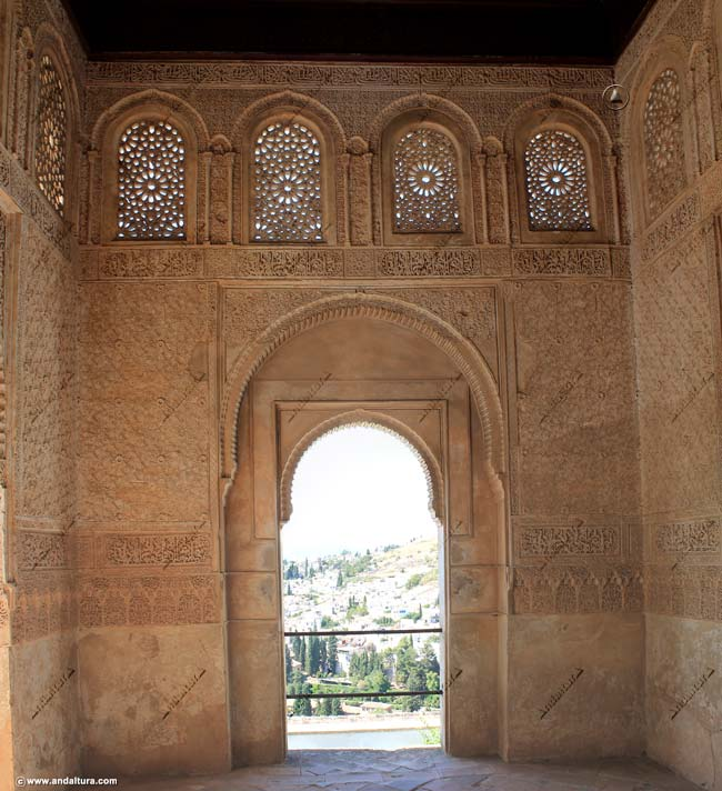Interior Torre de Ismail