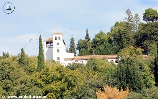 Palacio del Generalife y Torre de Ismail