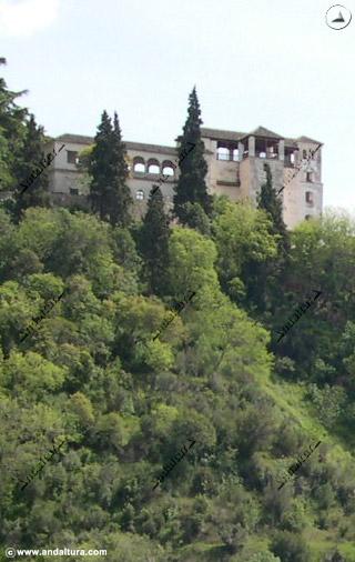 Torre de Ismail desde el Sacromonte