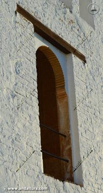 Ventana lateral de la Torre de Ismael