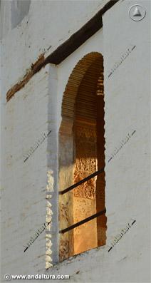 Ventanas desde el exterior de la Torre de Ismael